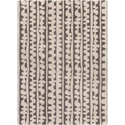 Decorativa Hand-Tufted Brown/Neutral Area Rug Rug Size: Rectangle 8 x 11