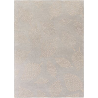 Decorativa Hand-Tufted Gray/Neutral Area Rug Rug Size: 8 x 11