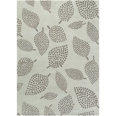 Decorativa Hand-Tufted Gray Area Rug Rug Size: Rectangle 8 x 11