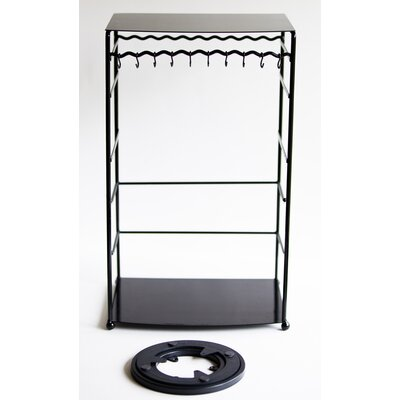 Free Standing Jewelry Armoire Finish: Black
