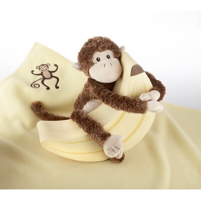 "Plush ""Monkey Magoo and Blankie Too!"" Gift Set"