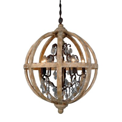 Andreana 5-Light Candle-Style Chandelier