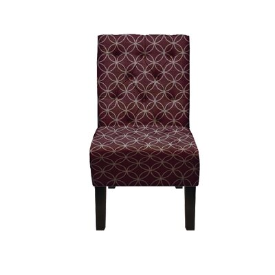 Goldenberg Parsons Chair Upholstery: Purple