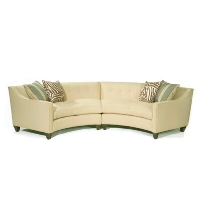 Classic Comfort 1211-86 Curved Sectional