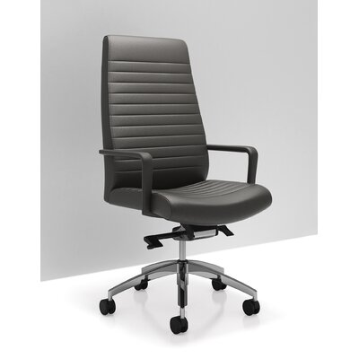 C5 High Back Leather Executive and Conference Room Chair Product Image 4