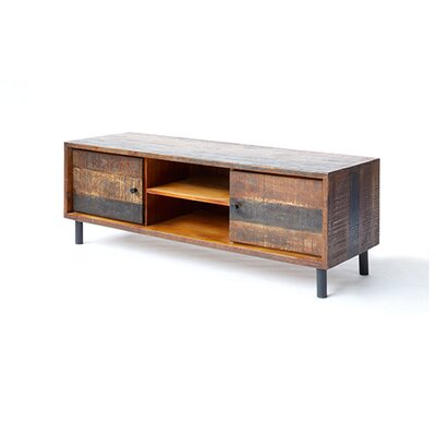 Collinsworth 53-69 TV Stand Size: 17.75 H x 53.25 W x 17.75 D