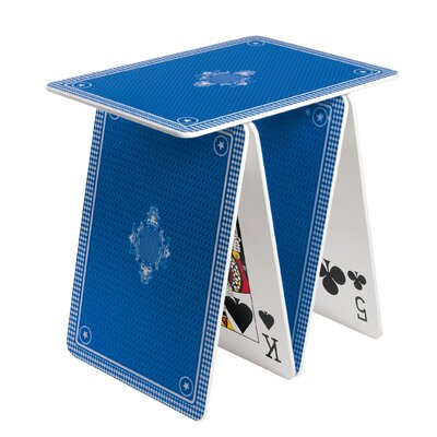 A la Carte End Table Color: Blue