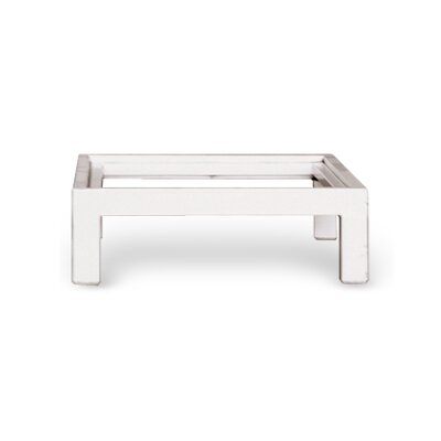 Stack Metal Base Size: 17.3 W, Finish: White