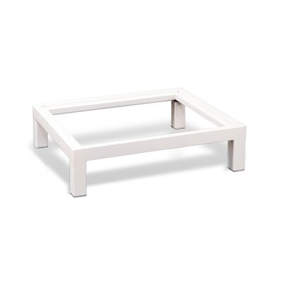 Stack Metal Base Size: 21.3 W, Finish: White