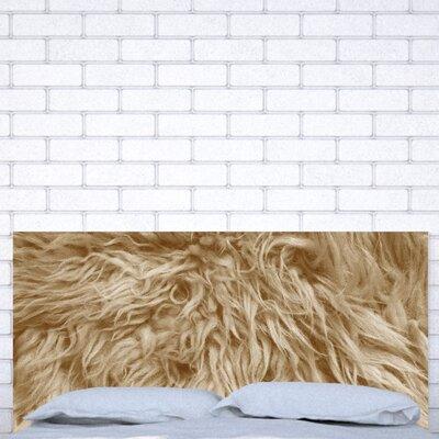 Upholstered Panel Headboard Size: King