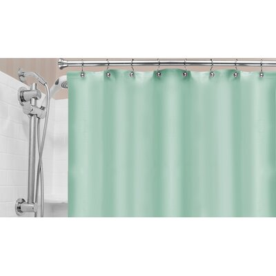 Vinyl Hotel Shower Curtain Liner Color: Jade