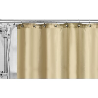 Burban Shower Curtain Liner Color: Ivory