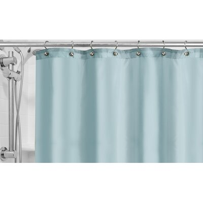Burban Shower Curtain Liner Color: Powder Blue