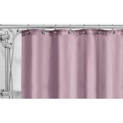 Burban Shower Curtain Liner Color: Lavender