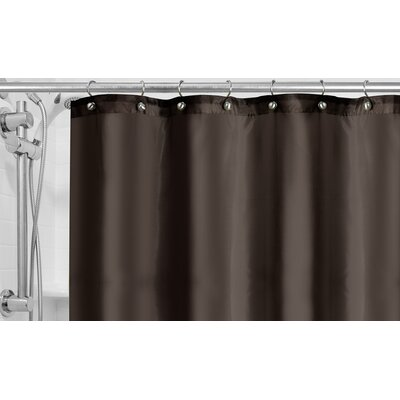 Burban Shower Curtain Liner Color: Charcoal Gray