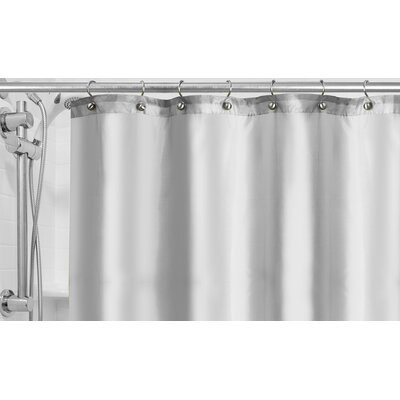 Shower Curtain Liner Color: White