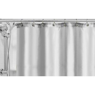Burban Shower Curtain Liner Color: White