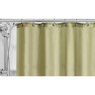 Burban Shower Curtain Liner Color: Sage