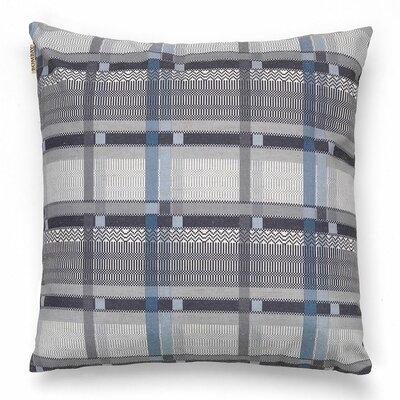 Gabi Throw Pillow Color: Blue Gray