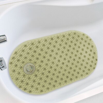 Hair Catcher Tub Mat Color: Sage
