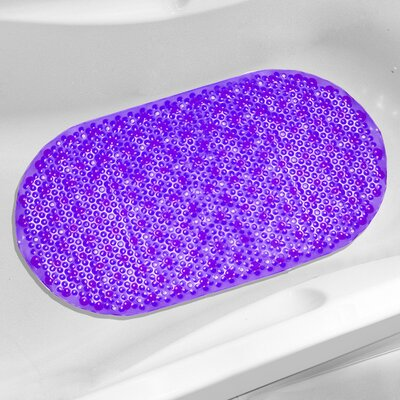 Bubble Tub Mat Color: Purple