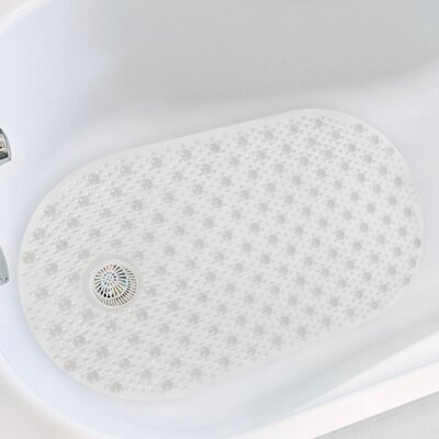 Hair Catcher Tub Mat Color: Clear