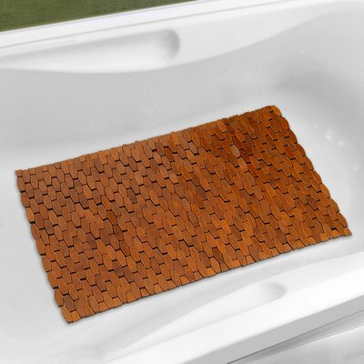 Fiji Bath Mat Color: Brown