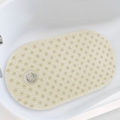 Hair Catcher Tub Mat Color: Beige