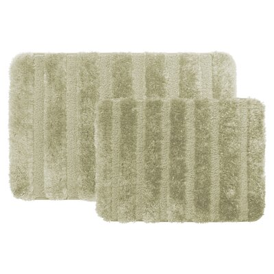 Bath Rug Color: Sage