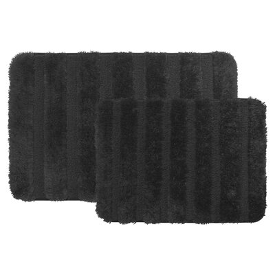 Bath Rug Color: Black