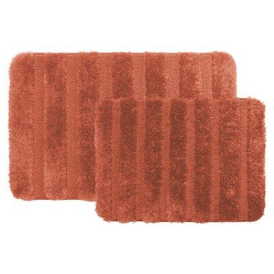 Bath Rug Color: Rust