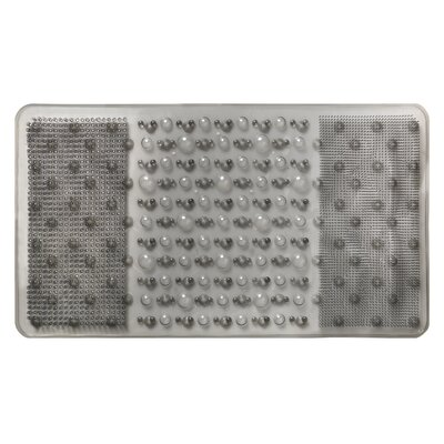 Rain Bath Mat Color: Gray