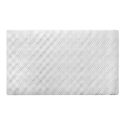 Dream Rubber Bath Mat Color: White
