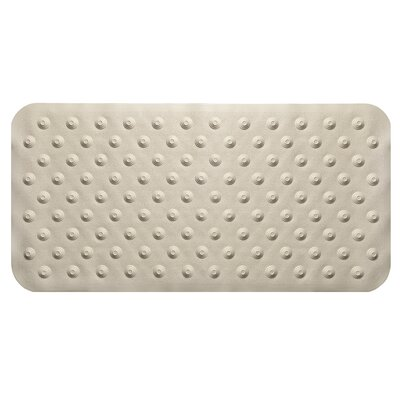 Iris Bath Mat Color: Beige