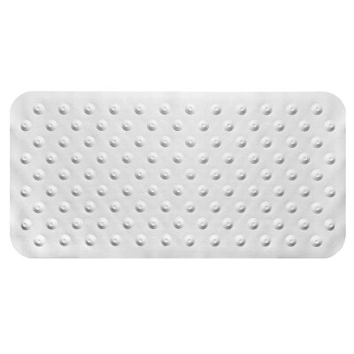 Iris Bath Mat Color: White