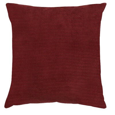 Burgundy Colored Throw Pillows : Meadow Polyester Throw Pillow Color Burgundy