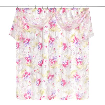 Flower Haven Shower Curtain