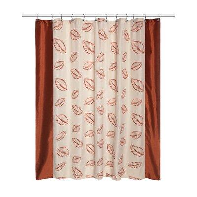 Fiji Shower Curtain Finish: Rust