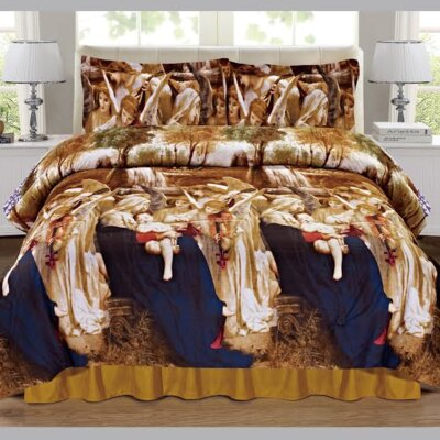 Adoration 4 Piece Comforter Set Size: Queen