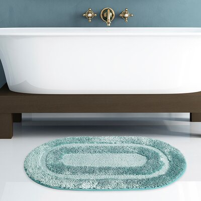 Pearl Bath Rug Color: Spa Blue