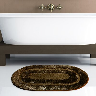 Pearl Bath Rug Color: Chocolate