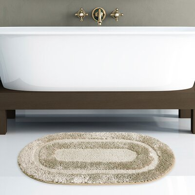 Pearl Bath Rug Color: Taupe