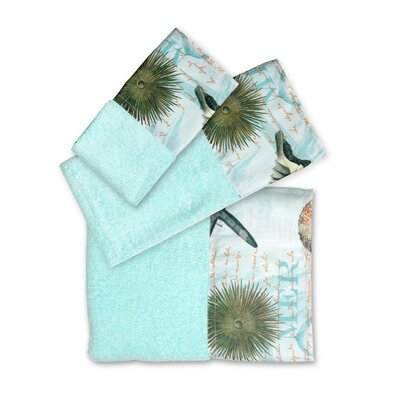 Atlantic 3 Piece Towel Set