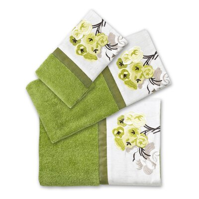 Canteen Flower 3 Piece Towel Set