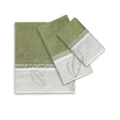 Fiji 3 Piece Towel Set Color: Mint