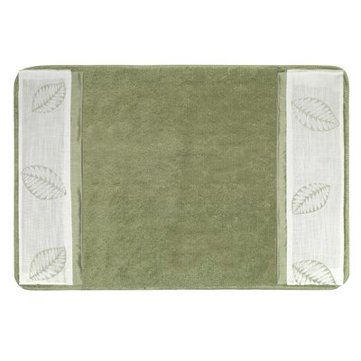 Fiji Bath Rug Color: Mint