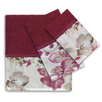 Secret Garden 3 Piece Bath Towel Set