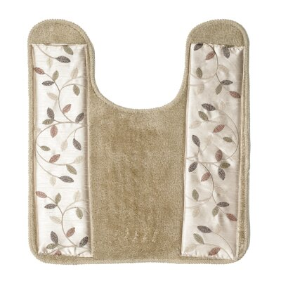 Aubury Bath Contour Mat Color: Beige