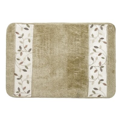 Aubury Bath Rug Color: Beige