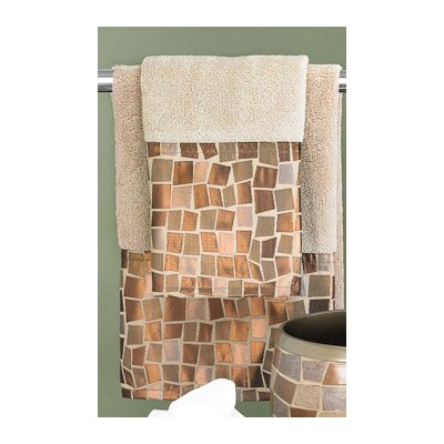 3 Piece Mosaic Stone Towel Set